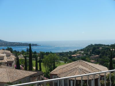 Photo for CAP ESTEREL 3P 6 / 7pers. 2ch 2sdb sea view - terrace - pk