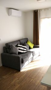 Photo for Apartment in Fuengirola. First line beach with side view. CTC2017022420