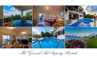 Photo for Maritsa Villa,  3 bedroom detached property, fully air conditioned with see view