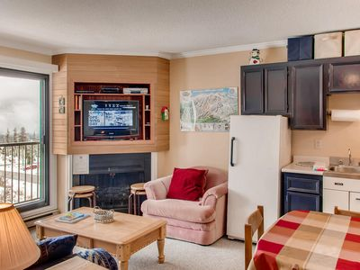Photo for One bedroom with kitchen and bathroom next to the ski run cozy and affordable