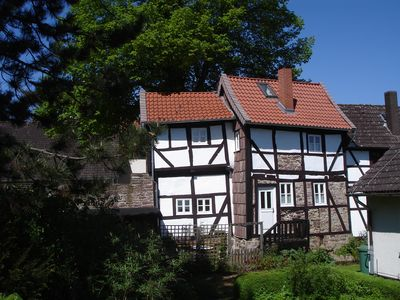 Photo for Holidays in listed timbered house in Weserbergland
