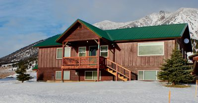 Photo for Lake Haven Luxury Cabin, 4 bedrooms, WIFI, two living areas