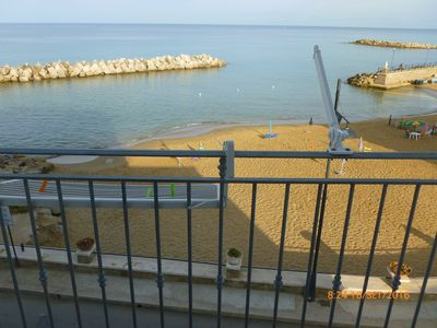 Photo for apartment on the sea castellabate