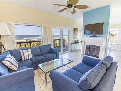 Photo for Harmony Beach House, Sleeps 11, 3 Bedrooms, Beach Front