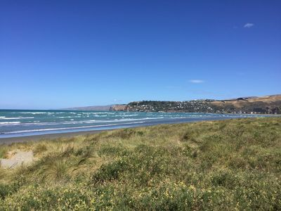 Photo for Nikau Cottage is located within throwing distance of the estuary and beach.