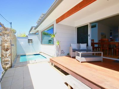 Photo for A Wave From It All - FREE LINEN, AIR CON AND PLUNGE POOL!