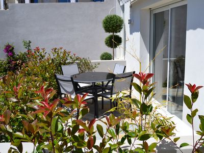Photo for Located south of Bastia Air-conditioned villa T3, quiet sea and mountain views, wifi