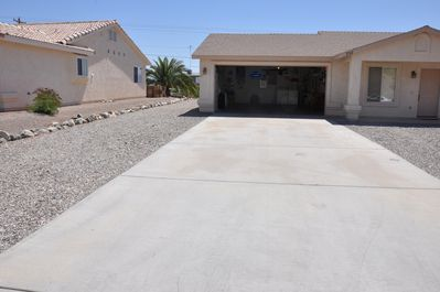 50 Foot Long Flat Driveway Perfect For The Boat!