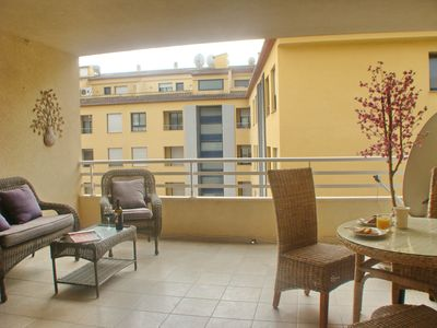 Photo for Comfortable apartment in Moraira, on the Costa Blanca, Spain for 4 persons