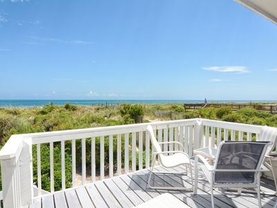 Photo for Station One-TH16 Boucher-Oceanfront townhouse; community pool, tennis, beach