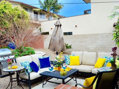 Photo for Remodeled PB Home w/Designer Decor, 2.5blks to Beach, Lrg Yard, 2 Car Spaces