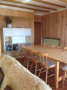 Photo for Chalet comfort 8/10 people full south free wifi