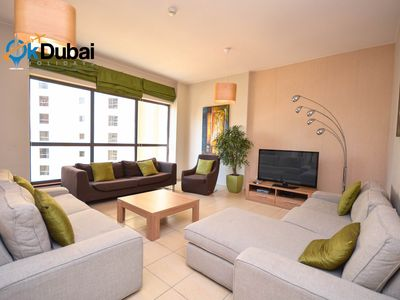 Photo for Spacious 3 Bedroom Apartment in JBR