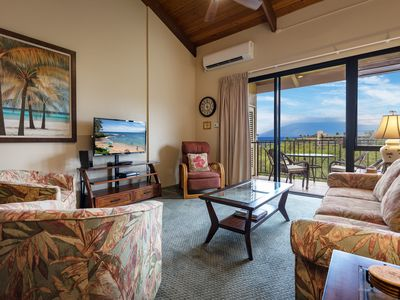 Photo for KAMAOLE SANDS- 2 BEDROOM-OCEAN VIEWS-WELL EQUIPPED-GREAT VALUE-AC