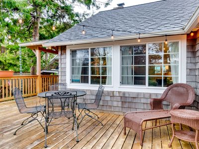 Photo for Charming, dog-friendly cottage w/ beautiful landscape & easy beach access!