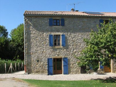 Photo for Four self-catering cottages in an old farmhouse with pool - 'Bordeaux'