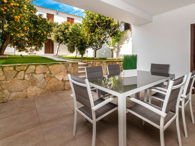 Photo for Holiday Home Costa Llobera 1 with Wi-Fi, Air Conditioning, Garden & Terrace; Parking Available