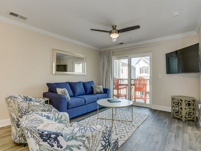Photo for NEW Construction, New Furniture, Great Location, Across The Street From Beach