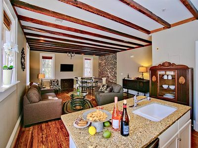 Photo for 1 Bed Comfy Carriage House Steps from the River