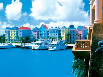 Photo for Harborside Resort, Nassau, Bahamas  2 bedroom Lockoff Best Location