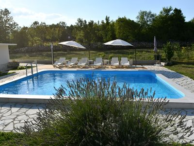 Photo for Holiday house with pool and barbecue terrace