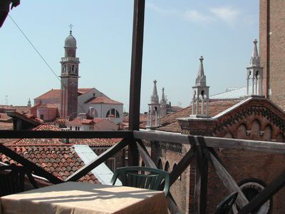 Photo for Charming apartment with roof terrace in Campo dei Frari (Free Wi Fi)