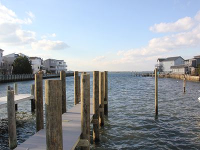 Photo for Bayfront with Dock*1 Block to Beach*Bring Your Water Toys