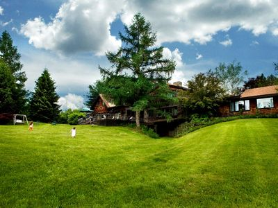 Photo for Sprawling Rustic Country Estate Featuring Spring-Fed Swim Pond & Tennis Ct