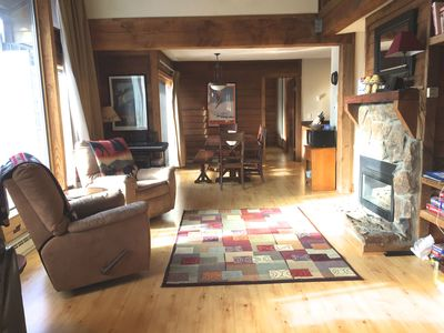 Photo for SPACIOUS CONDO in Anaconda!  WALK TO SUPER BEE LIFT!  ON GOLF COURSE!!