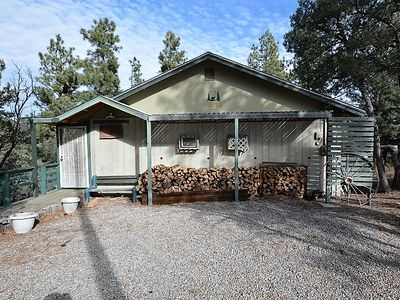 Photo for Cozy Cabin near Downtown w/ Fireplace, Grill & Outdoor Hot Tub