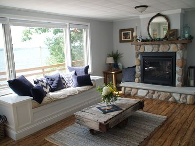 Photo for Seneca Sunsets - Waterfront, hot tub, new dock, great views, central location!