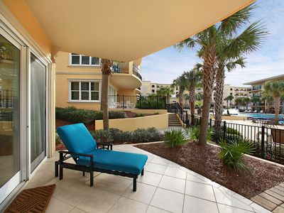 Photo for Adagio E101 pool front condo,bunk room, corner unit -SEPTEMBER WEEKS OPEN!