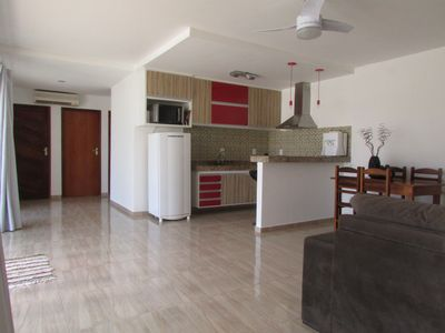 Photo for Excellent house with wi-fi in gated community 2 km from Praia das Caravelas