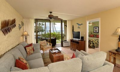 Photo for UP TO 20% OFF!! Two Bedroom Ocean View Condo in Maalaea Close to Aquarium