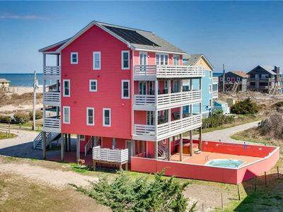 Photo for Breathtaking Ocean Views w/Solar Htd Pool, Hot Tub, Elevator, Theater & Game Rms