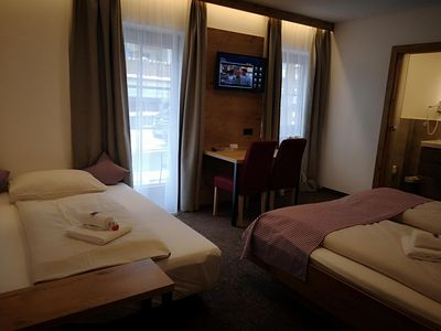 Photo for Comfortable double room with sofa bed - Hotel Aschauer Hof