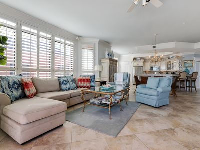 Photo for 1205E - Flawless 3BR Beachfront Penthouse!