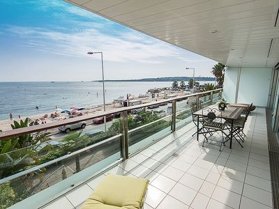 Photo for Cannes Palm Beach, spectacular sea view