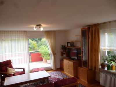 Photo for Bright attic apartment on the 2nd floor with large south-facing terrace and free Wi-Fi