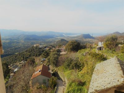 Photo for Village house with stunning views of the Gulf of Saint-Florent