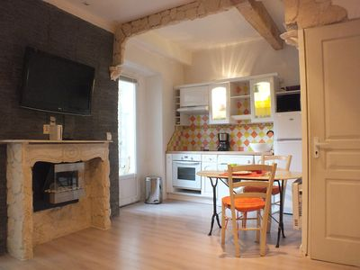 Photo for 2 Rooms with atypical interior terrace in the old town