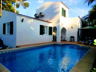 Photo for Villa with private pool and air conditioning, located at 150 m of the beach
