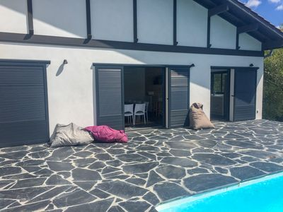 Photo for VILLA DESIGN 16PERS. WITH PRIVATE SWIMMING POOL, GARDEN AND BEACH 600m