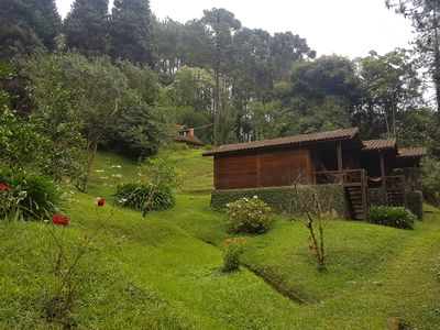 Photo for Next to the Véu da Noiva Waterfall and 400 meters from the center of Maromba