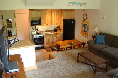 Slopeside, well-appointed condo with private entrance!