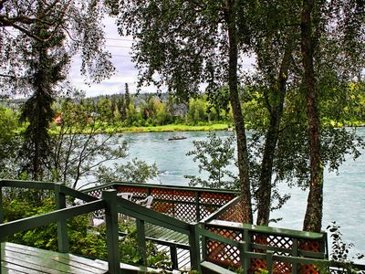 Photo for RV 1 w/ PRIVATE FISHING DOCK ON BEAUTIFUL KENAI RIVER!