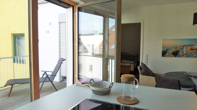 Photo for New! Freising center Luxury Overlooking the rooftops with balcony overlooking the Cathedral Hill