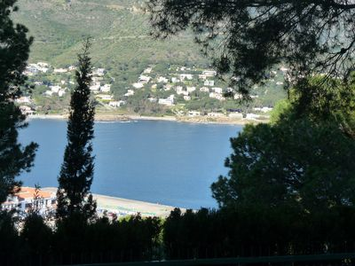 Photo for Villa with private pool, 5 minutes walk from the beaches. Sea and mountain views.