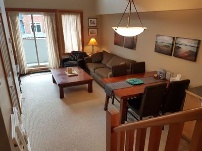 Photo for Relaxing and cozy 1 BD loft suite in Canmore - perfect getaway