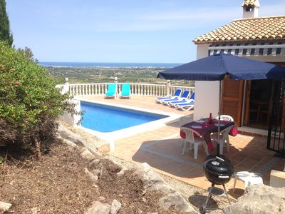 Photo for Villa with sea views and pool, for 4-6 pers in La Sella Golf Resort, with views